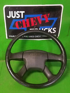 2003 To 2006 Gmc Sierra Yukon Chevy Silverado 4 Spoke Black Base Steering Wheel