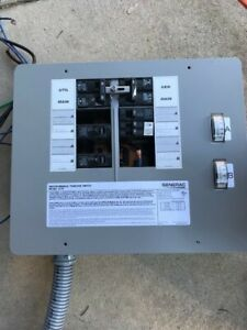 Generac Manual Transfer Switch Model 6378