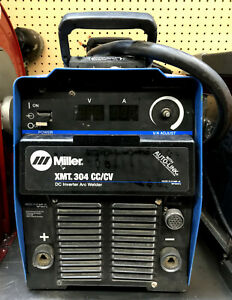 Miller Xmt 304 Cc cv Dc Inverter Arc Welder W auto link local Pick Up