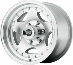 15 American Racing Ar23 15x7 Silver Machined 5x4 5 Truck Wheel 6mm 5 Lug Rim