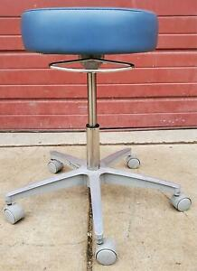 Brewer Exam Adjustable Air Lift Medical Dental Tatoo Vet Stool Chair Free Ship