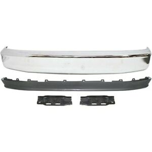 Bumper Kit For 92 96 Ford F 150 92 97 F Super Duty Front 4pc