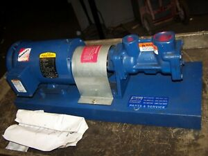 New Imo 1 1 2 X 1 Hydraulic Screw Pump 1 1 2 Hp Model 3241 261 C3ebf 118p
