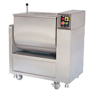 100lbs Commercial Quality Meat Mixer Stainless New 110v