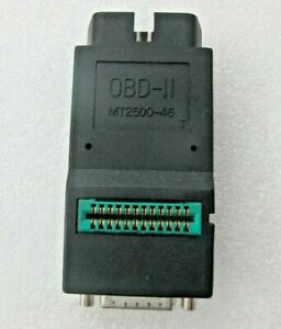 Snap On Mt2500 Solus Scanner Obdii Obd2 Adapter Mt2500 46 Grn W sturdy Connector