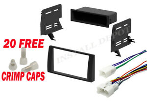 02 2006 Toyota Camry Complete Radio Stereo Install Dash Kit Wire Harness