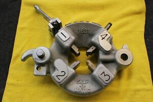 Rothenberger 1 2 Snap o matic Pipe Threader Head W Dies