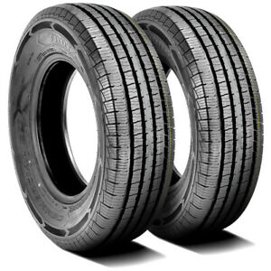 2 New Thunderer Commercial L T 235 75r15 Load E 10 Ply Commercial Tires