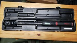 Snap on 1 2 Drive Electronic Torque Wrench Techangle