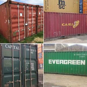 20ft Used Wind And Watertight Shipping Containers Baltimore Best Price