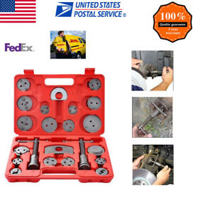 21 Piece Heavy Duty Disc Brake Caliper Tool Set Wind Back Kit For Brake Pad Si