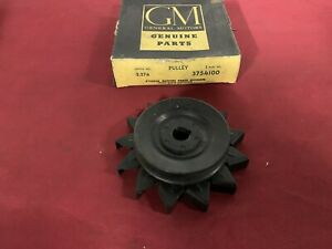 Nos 58 62 Chevrolet Truck 35amp Generator Pulley Fan Gm 3754100