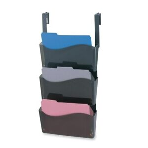 Oic Wall File Organizer With Hanger 3 box Grey
