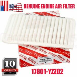 For Toyota Genuine Engine Air Filter 17801 Yzz02 4 Cylinder Models