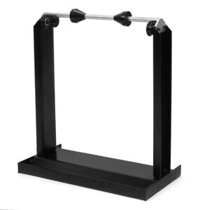 Motorcycle Rim Tire Wheel Balancer Balancing Spin Static Truing Stand Black