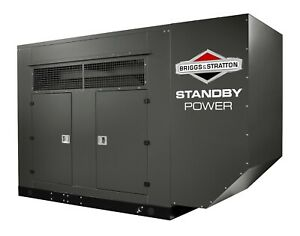 100kw Briggs Stratton Natural Gas Generator