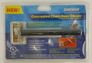 Concealed Chain Door Closer Hidden In Door Up To 150 Door Adjustable Tension