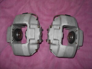 Original Ate Genuine Porsche 911s 930 Turbo Matching Front Pair Alloy Calipers