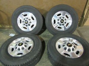 Chevrolet Silverado 17 Inch 5500 Wheels And Tires Set Of 4