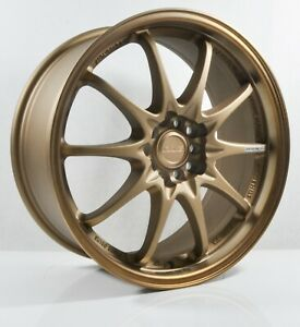 4pcs Ce28 18inch 8j 5x100 5x114 3 Alloy Wheel Cheap Rim Bronze Ct172 01 2