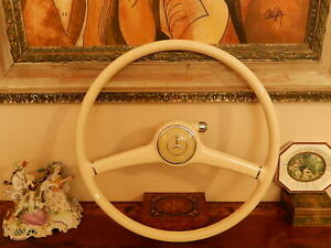 Mercedes 300sl Gullwing 300 Sl Steering Wheel Orig Nos New From 1956 Flawless