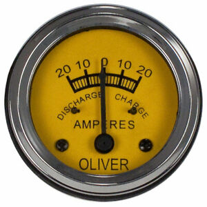 Amp Gauge 66 77 88 99 Supers 44 55 660 950 990 995 60 70 80 Ammeter Oliver 059