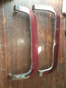 1955 55 Cadillac Passenger Car Left Right Fender Skirt