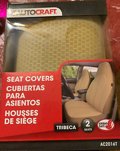 Autocraft Seat Covers Tribeca Tan Ac2016t For 2 Bucket Seats