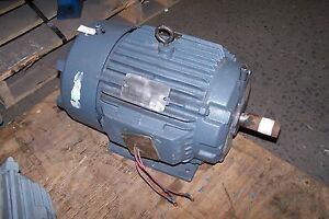 New Reliance 7 5 Hp Electric Ac Motor 460 Vac 1760 Rpm 213t Frame 3 Phase