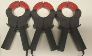 Lot Of 3 Reliable Power Meters 1000 Amps 24 000 3100 Current Clamp Meter