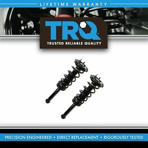 Trq Complete Shock Strut Spring Assembly Rear Pair Set 2pc For 00 03 Maxima