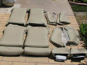 Bmw E24 635csi Sport Seat Kit Pearl Beige 100 Leather Upholstery Kits Beautiful