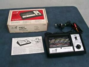 Sears Engine Analyzer Model 161 2161 Complete With Instructions