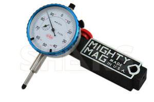 Mighty Mag 400 1 Universal Magnetic Base 0 0 5 Dial Indicator Usa P