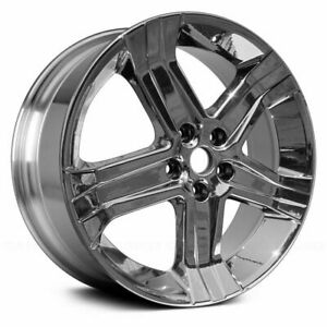 New 22 X 9 Polished Replacement Wheel Rim For 2011 2018 Dodge Ram 1500
