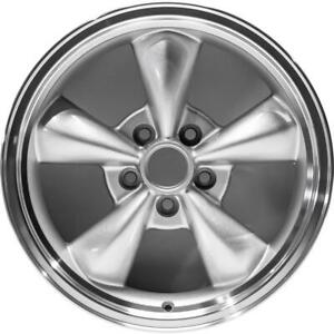 New 17 X 8 Cnc Silver Replacement Wheel Rim For 1994 2006 Ford Mustang