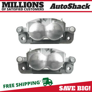 Front Brake Caliper Pair For 2005 2010 2011 2012 Ford F 250 F 350 Super Duty