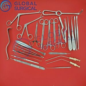 Neuro Spinal Surgery Surgical Orthopedic Instruments 20 Pcs Set Best Quality Gs