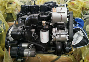 New Engine Complete Original Dcec Cummins 3 9l 4b3 9 Rotation 125 Hp No Core Cha