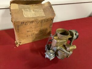 Nos 1956 Ford 272 Carburetor B6a 9510 k Ecg6 Fairlane Crown Victoria Fordomatic