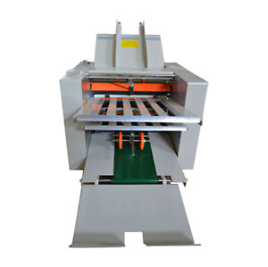 110v Speed Adjustable Auto Electric Paper Folding Machine In Different Styles Fo