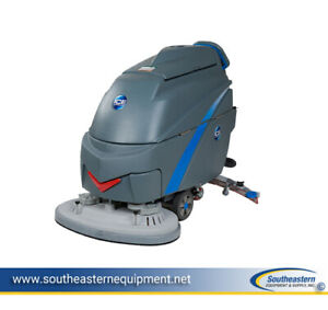 Demo Ice I36bt Walk behind Traction drive Auto Scrubber