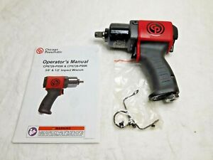 Chicago Pneumatic Impact Wrench 1 2 Drive 350 Ft lb Torque 11500rpm Cp6738 p05r