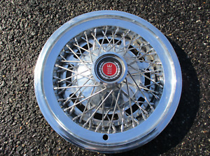 One Factory 1974 To 1979 Ford Torino Elite Wire Spoke 15 Inch Hubcap Wheel Cover