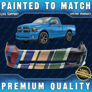 Painted To Match Front Bumper Direct Fit For 2013 2018 Ram 1500 Sport Express