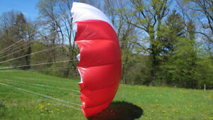 Supair Solo Start Spheric Reserve Parachute For Paramotor Or Paragliding Ppg