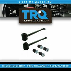 Rear Suspension Kit Trailing Arms Sway Bar End Links For Buick Cadillac Olds New