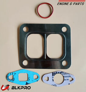 Turbo Exhaust Gasket Made In Usa Set Turbocharger For 8 3c Cummins 6c Isc Holset