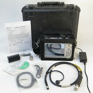 Anritsu S332e Sitemaster Cable antenna Spectrum Analyzer Opt 10 21