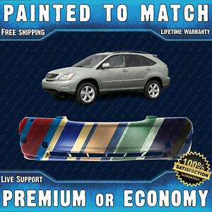 New Painted To Match Front Bumper Replacement For 2004 2009 Lexus Rx330 Rx350